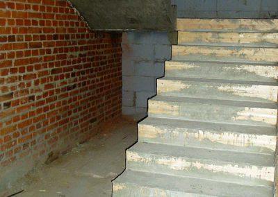 Лестница монолитная с площадкой, Каменск-Уральский