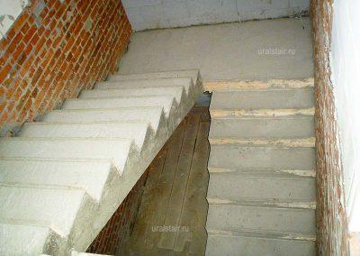 Бетонная лестница П-образная, Каменск-Уральский
