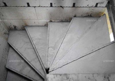 Забежная П-образная лестница, д. Поварня