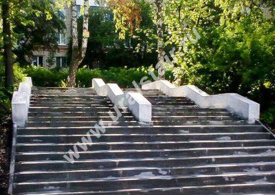 "Монолитная лестница г. Дегтярск, ""Аллея Памяти"""