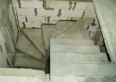 Забежная П-образная лестница, Косулино